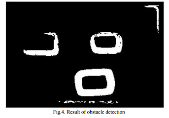Result of obstacle detection